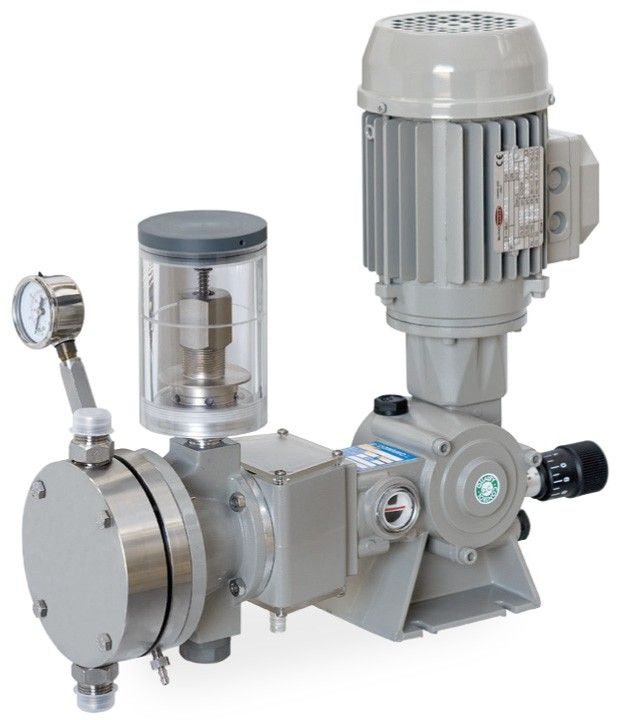 Spring Return Sandwich Hydraulic Diaphragm Pump Type SD