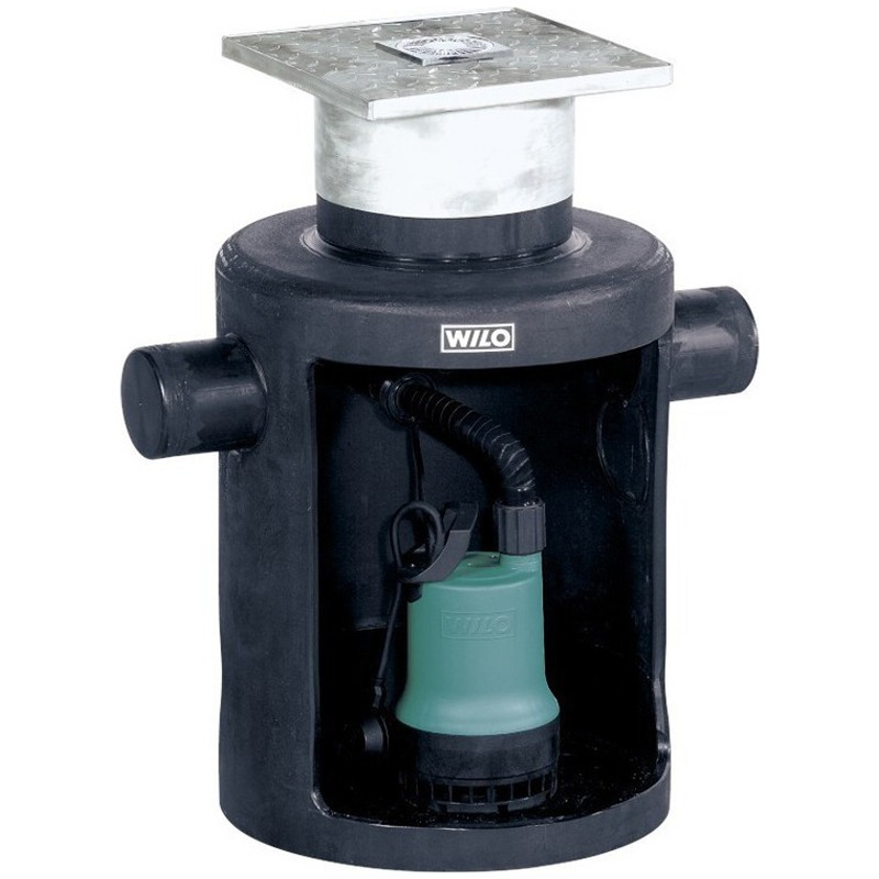 Wilo-DrainLift Box: помпена система за отпадни води (подземна инсталация)
