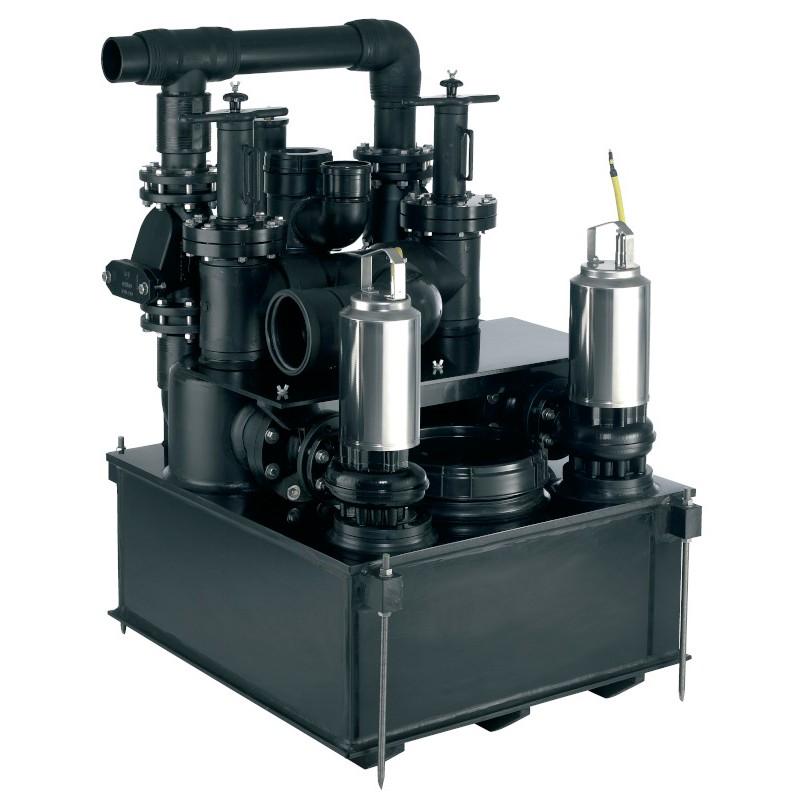 Wilo-Drainlift FTS: помпена система за отпадни води със система за отделяне на твърди примеси