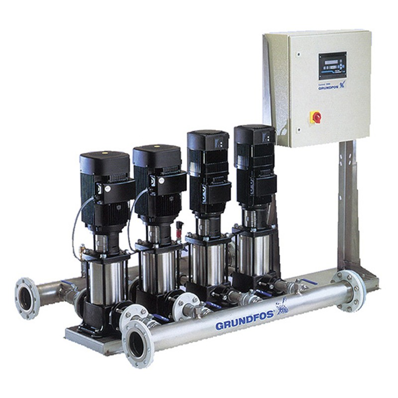 Grundfos-HYDRO MPC: Ready Boosting Systems