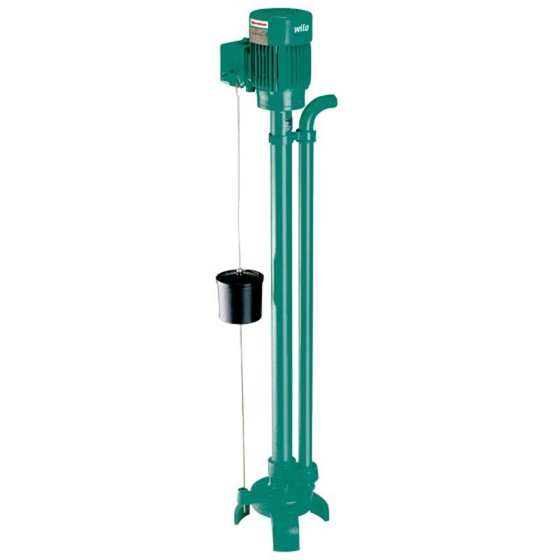 Wilo-Drain VC: вертикална помпа за отпадни води (помпа, монтирана върху стойка с мотор IE2)