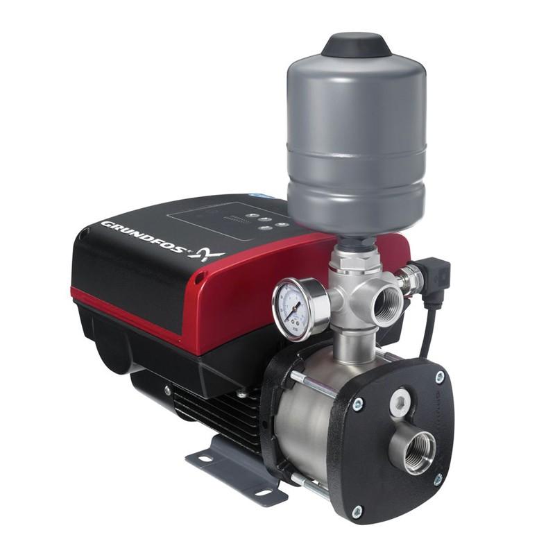 Хидрофорна многостъпална помпа Grundfos CMBE с честотно управление