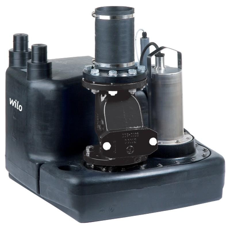 Wilo-DrainLift M: помпена система за отпадни води с 1 или 2 вградени помпи